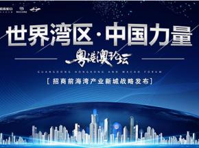 """""""世界湾区 中国力量"""" 招商前海湾产业新城全球战略发布圆满成功"""