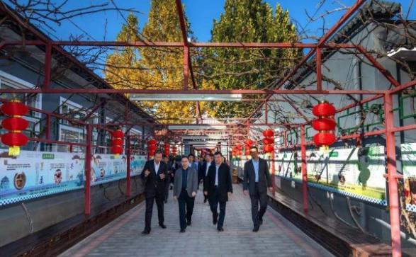 民政部老龄服务司领导莅临中关村科技旗下纳兰园参观考察