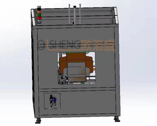 自动折盒机3D图